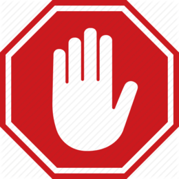 download-stop-hand-sign-clipart-signage-clip-art-502467.png
